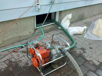 basement flood pump
