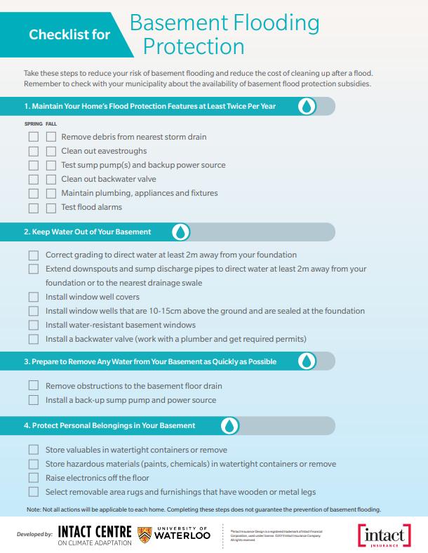 flood-prevention-checklist