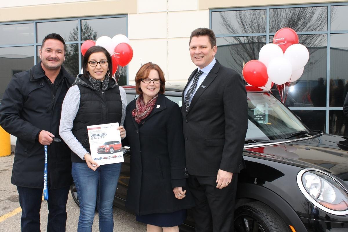CLPNA Member Wins Mini Cooper with Armour Insurance