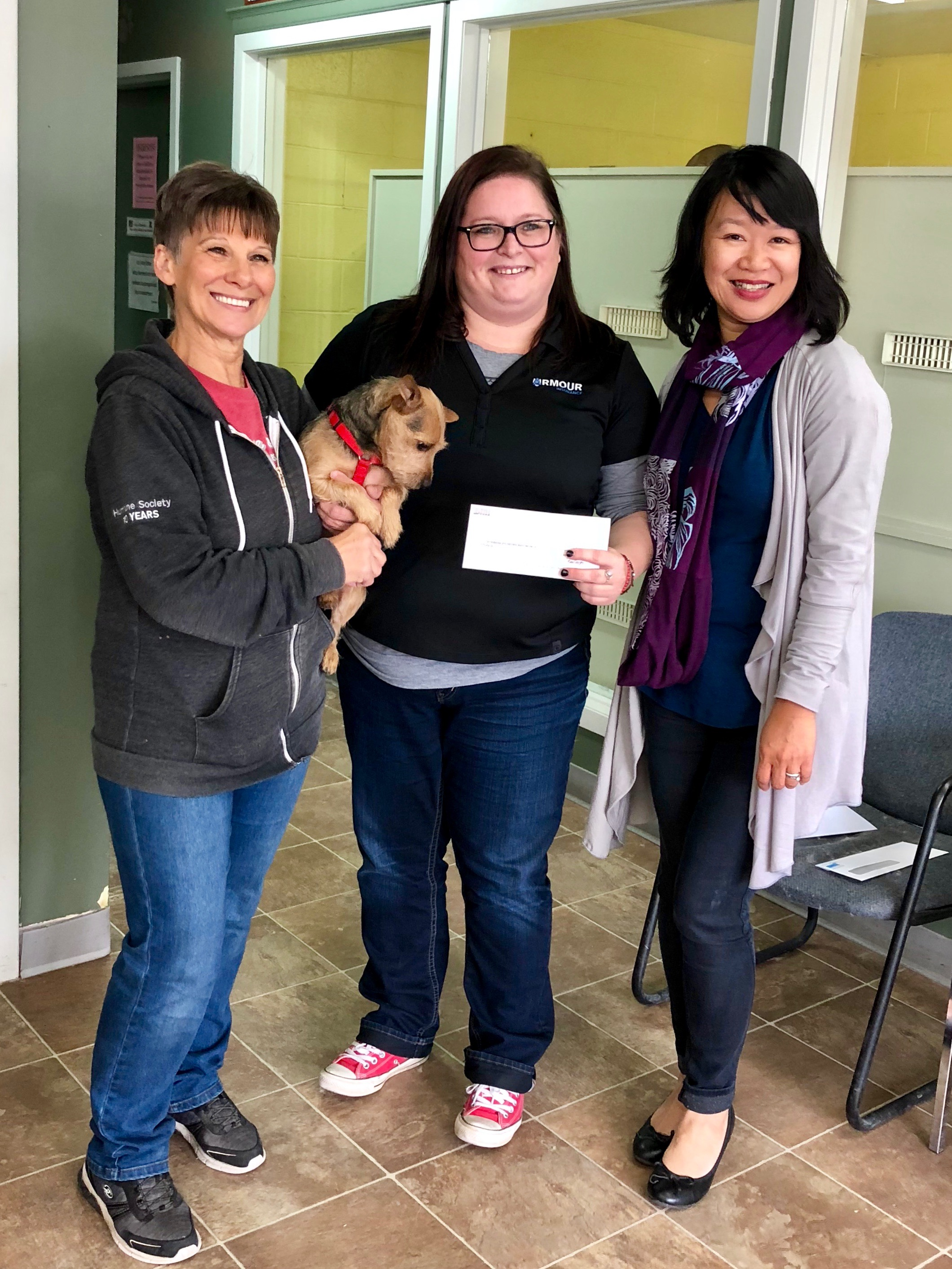 Armour Lethbridge Supports the Lethbridge & District Humane Society