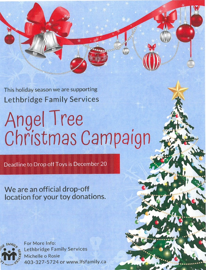 Angel Tree Christmas Campaign Underway at Armour Lethbridge